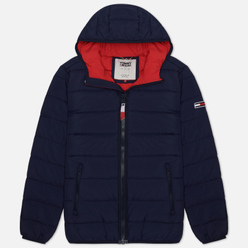 Мужской пуховик Tommy Jeans Essential Hooded Padded Black Iris