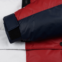 Мужской пуховик Tommy Jeans Flag Puffer Popover Navy Blazer/Multi фото- 5