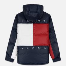 Мужской пуховик Tommy Jeans Flag Puffer Popover Navy Blazer/Multi фото- 6
