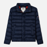 Мужской пуховик Tommy Jeans Light Down Black Iris фото- 0