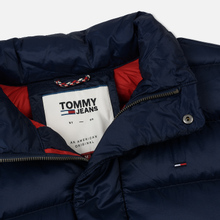 Мужской пуховик Tommy Jeans Light Down Black Iris фото- 2