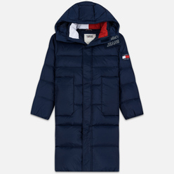 Мужской пуховик Tommy Jeans Long Padded Parka Black Iris