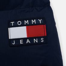 Мужской пуховик Tommy Jeans Long Padded Parka Black Iris фото- 7