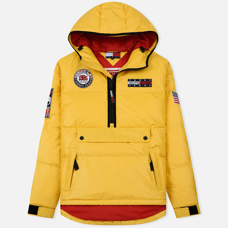 Мужской пуховик Tommy Jeans Popover Puffer Expedition 6.0 Lemon Chrome