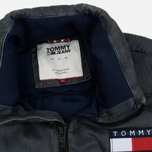 Мужской пуховик Tommy Jeans Washed Padded Black фото- 2