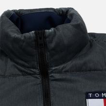 Мужской пуховик Tommy Jeans Washed Padded Black фото- 3