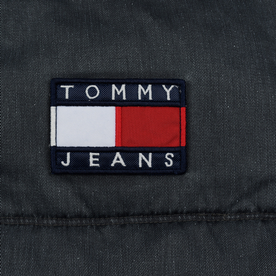Мужской пуховик Tommy Jeans Washed Padded Black