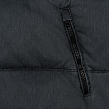 Мужской пуховик Tommy Jeans Washed Padded Black фото- 5