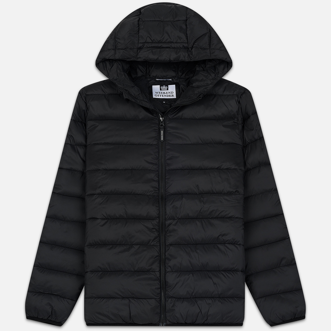 Мужской пуховик Weekend Offender Frazier AW19 Black