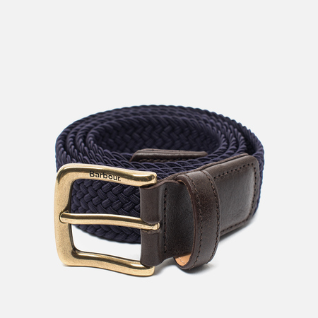 Barbour Classic Webbing Men's Belt Navy