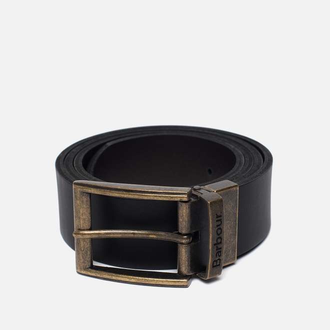 Ремень Barbour Reversible Leather Gift Box Black