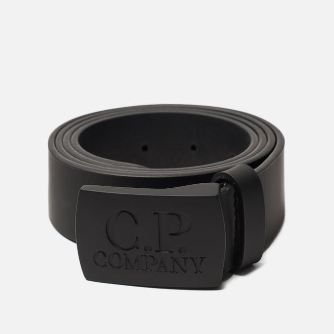 Ремень C.P. Company Classic Leather Black