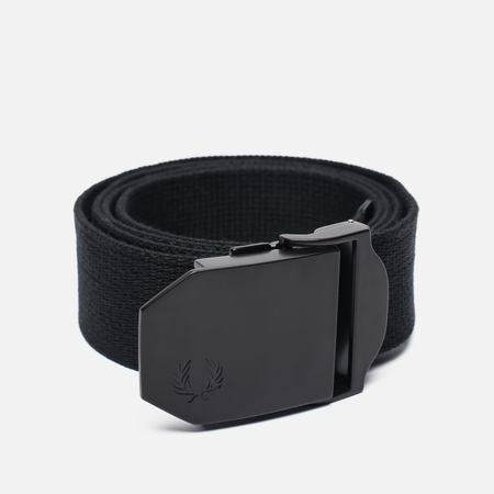 Мужской ремень Fred Perry Solid Webbing Black