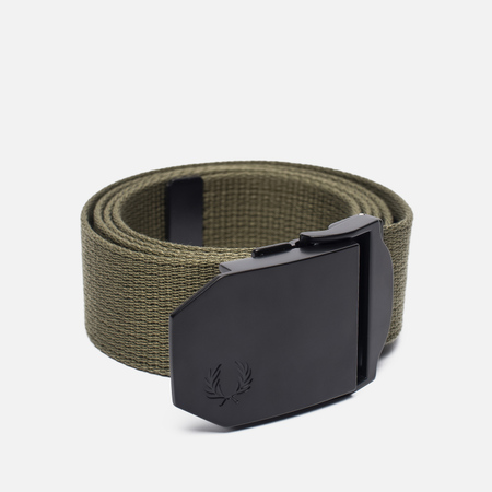Мужской ремень Fred Perry Solid Webbing Military Green