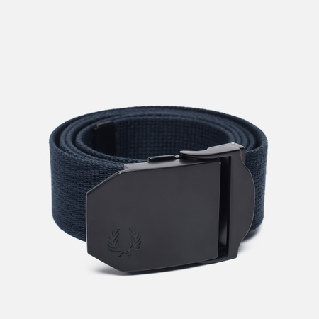 Мужской ремень Fred Perry Solid Webbing Navy