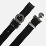 Stone Island Buckle Compass Nylon Men's Belt Black photo- 1