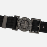 Stone Island Buckle Compass Nylon Men's Belt Black photo- 2