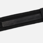 Stone Island Buckle Compass Nylon Men's Belt Black photo- 3