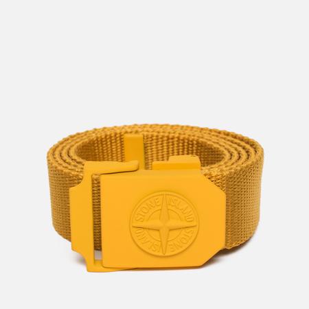 Мужской ремень Stone Island Strong Nylon Strap Yellow