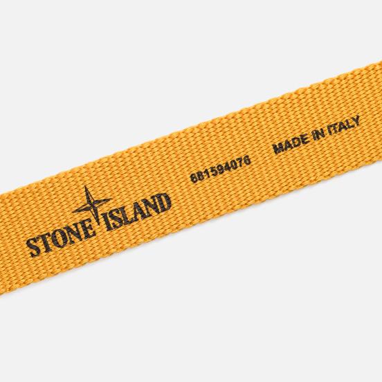 Ремень Stone Island Strong Nylon Strap Yellow