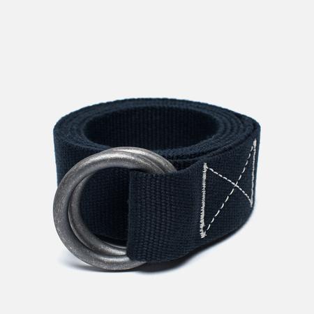 Мужской ремень Universal Works O Ring Canvas Navy