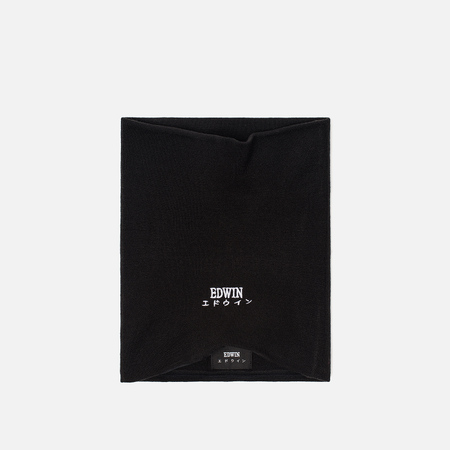 Мужской шарф Edwin Neck Warmer Black