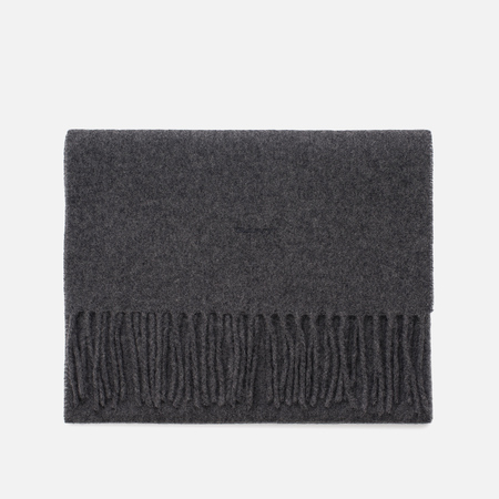 Мужской шарф Gant Basic Solid Lambswool Charcoal Melange