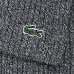 Lacoste Green Croc Wool Men's Scarf Light Grey Jaspe photo- 3