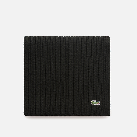 Мужской шарф Lacoste Green Croc Wool Sherwood