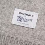 Шарф Norse Projects x Johnstons Lambswool Ash Grey фото- 2