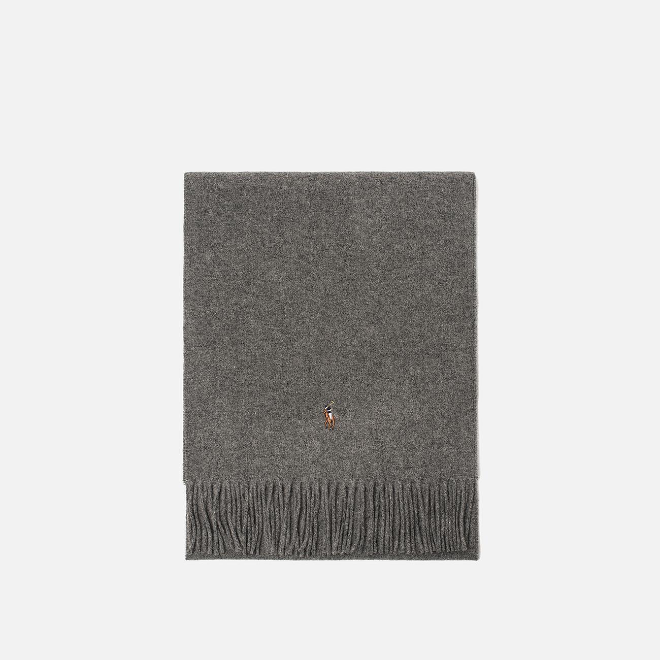 Шарф Polo Ralph Lauren Oblong Sigh It Wool Fawn Grey Heather