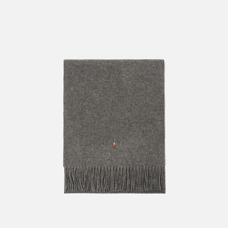 Шарф Polo Ralph Lauren Oblong Wool Coldweather Fawn Grey Heather