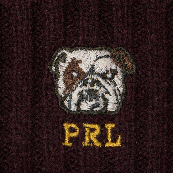 Шапка Polo Ralph Lauren Wool Stripe Oblong Classic Wine Multi