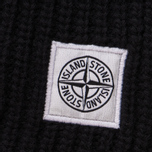 Мужской шарф Stone Island Lambswool Compass Patch Logo Black фото- 2