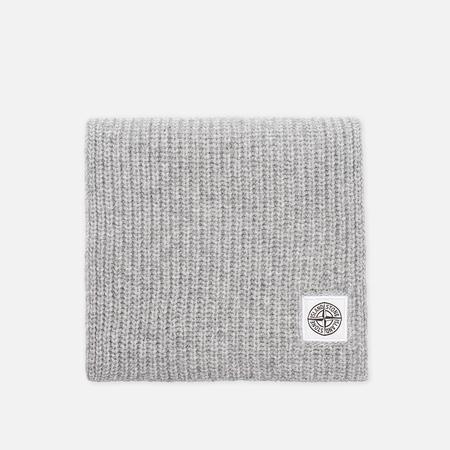 Stone Island Ribbed Men's scarf Grey