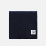 Мужской шарф Stone Island Ribbed Navy фото- 0