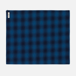 Мужской шарф The Hill-Side Ombre Plaid Flannel Indigo фото- 0