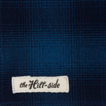 Мужской шарф The Hill-Side Ombre Plaid Flannel Indigo фото- 1
