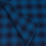 Мужской шарф The Hill-Side Ombre Plaid Flannel Indigo фото- 2