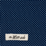 Мужской шарф The Hill-Side Wabash Polka Dot Indigo фото- 1