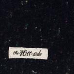 Мужской шарф The Hill-Side Wool Blend Galaxy Tweed Navy фото- 1
