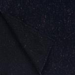 Мужской шарф The Hill-Side Wool Blend Galaxy Tweed Navy фото- 2