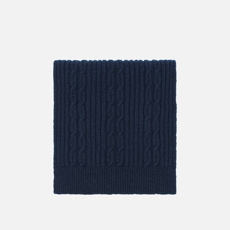Мужской шарф Universal Works Long Soft Wool Cable Navy