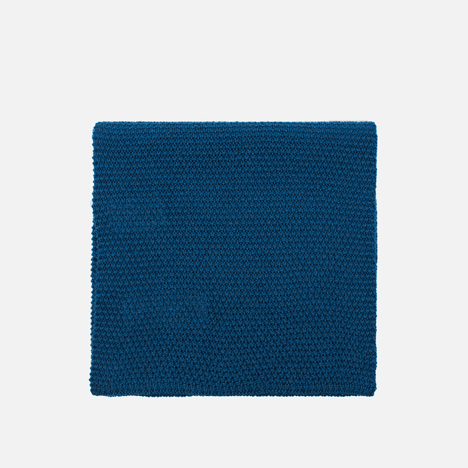 Мужской шарф Universal Works Scarf Moss Stitch Blue