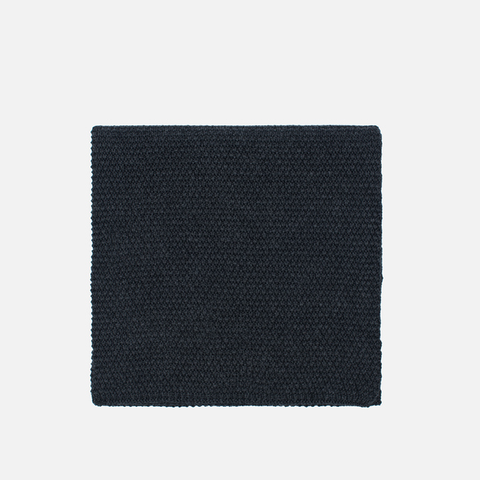 Мужской шарф Universal Works Scarf Moss Stitch Charcoal