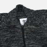 Мужской свитер adidas Originals x Wings + Horns Knitted TT Black/White фото- 1