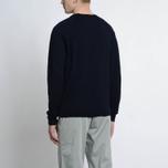 Мужской свитер Albam Merino Pullover Navy фото- 5