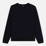 Мужской свитер Albam Merino Pullover Navy фото- 0
