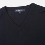 Мужской свитер Aquascutum Crowe Vee Knit Navy фото- 1