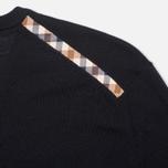 Мужской свитер Aquascutum Crowe Vee Knit Navy фото- 3